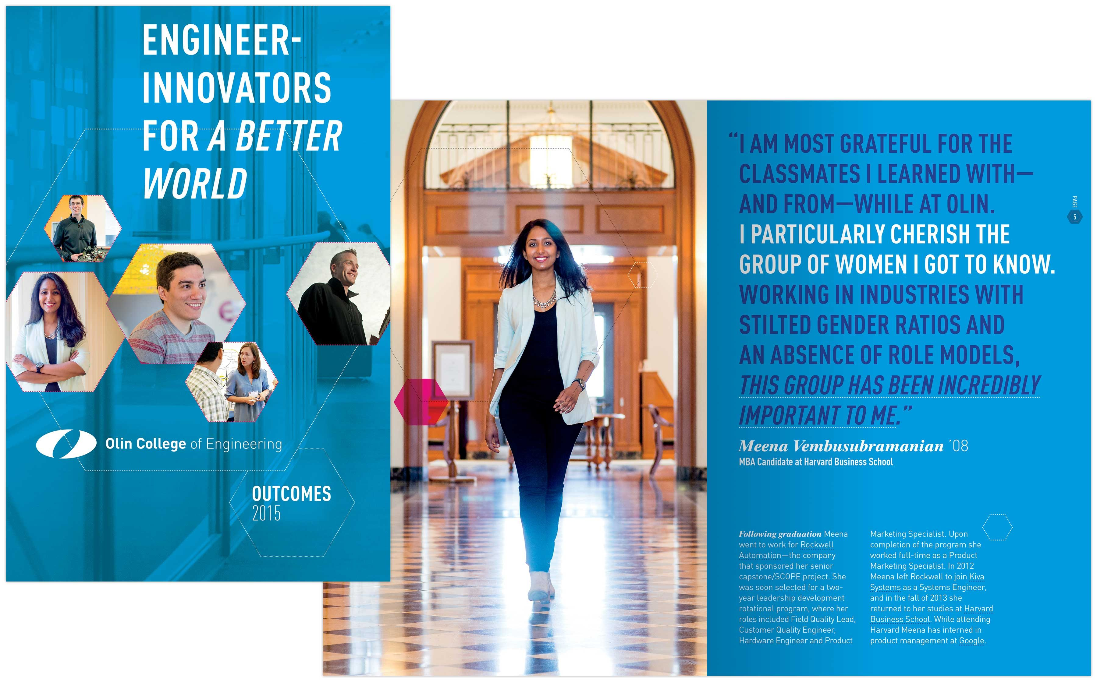 Outcomes 2015 cover: Engineer-innovators for a better world