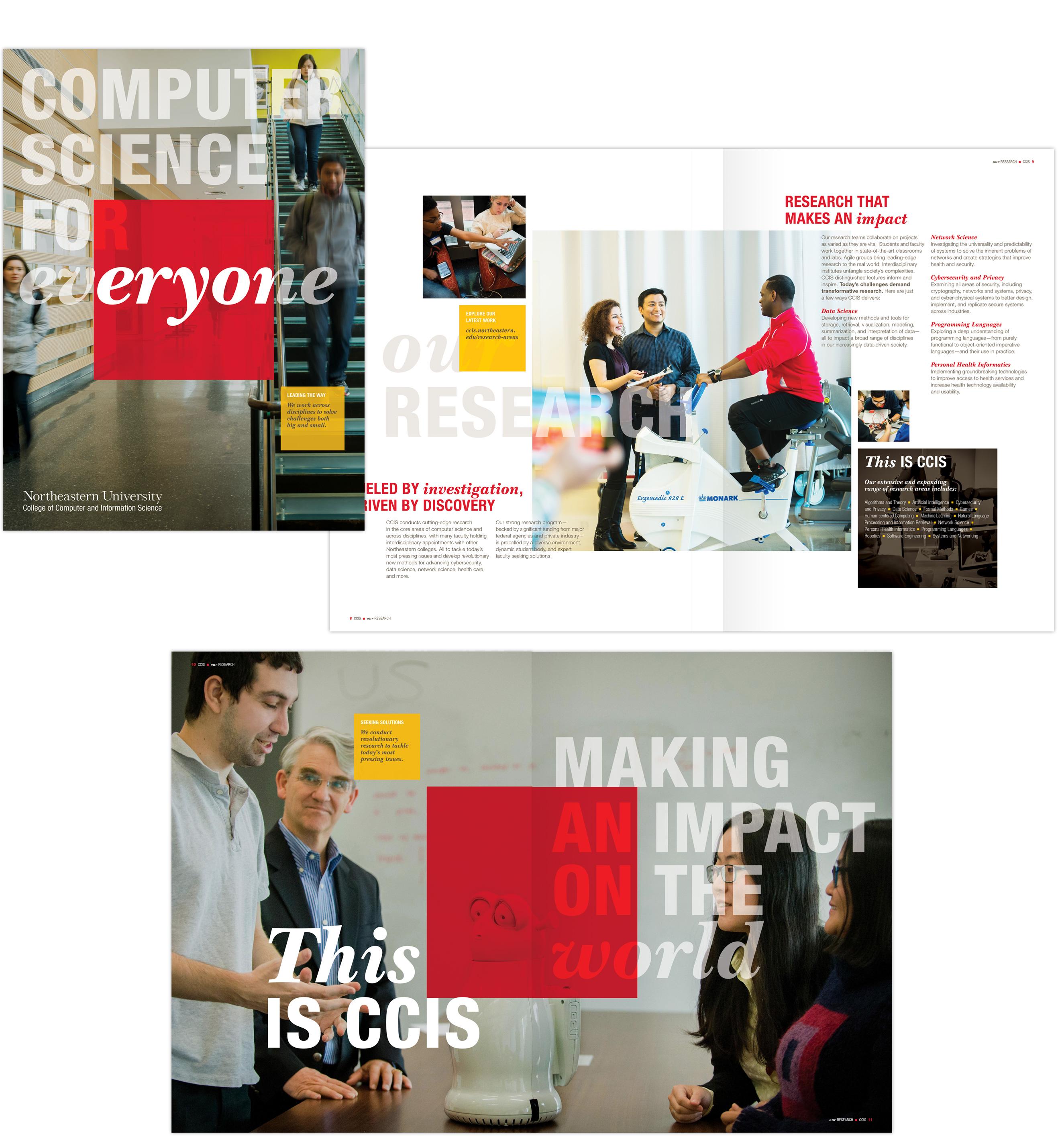 CCIS brochure spread