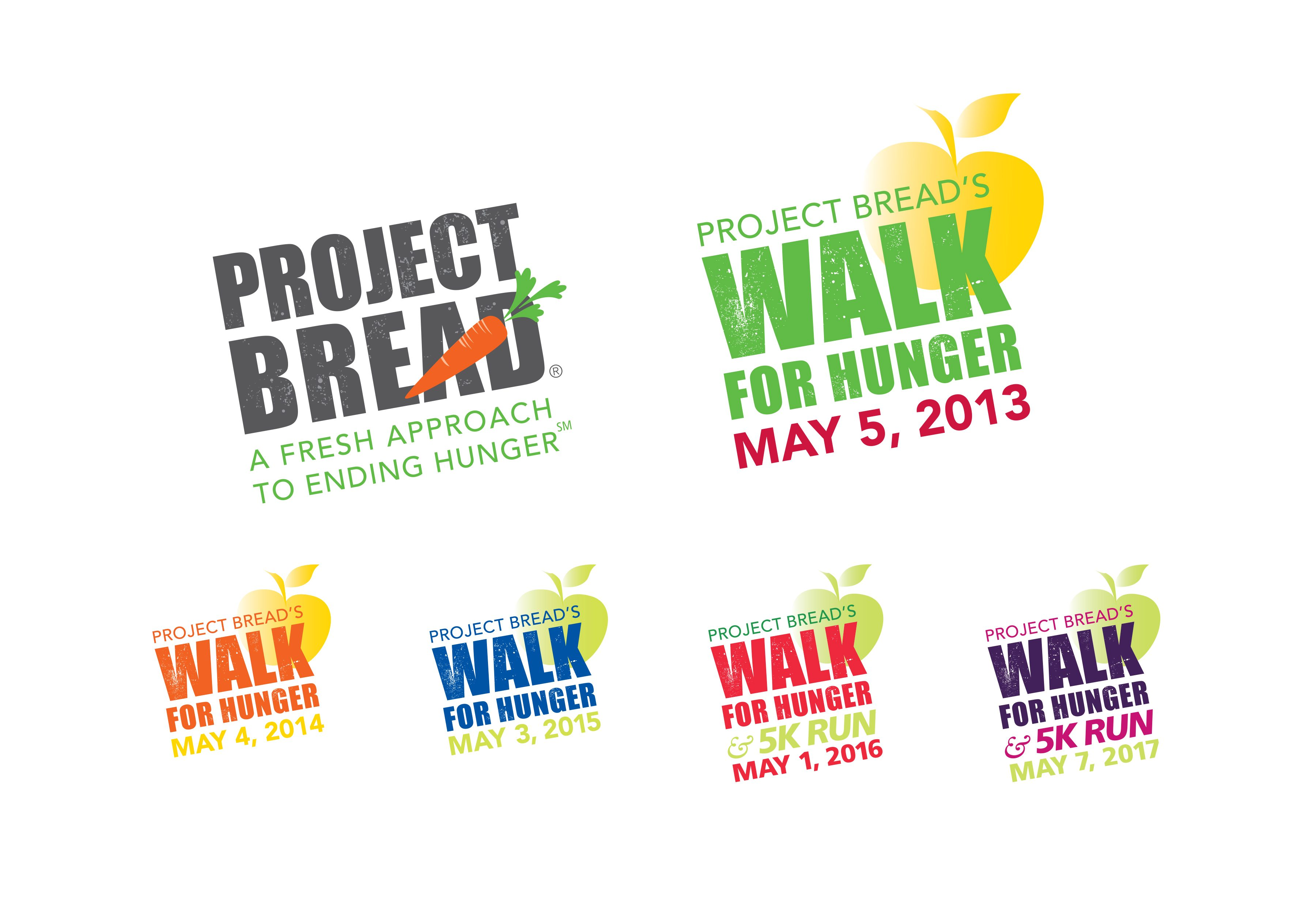 Project Bread and Walk for Hunger logos