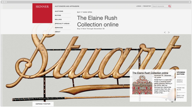 Skinner homepage