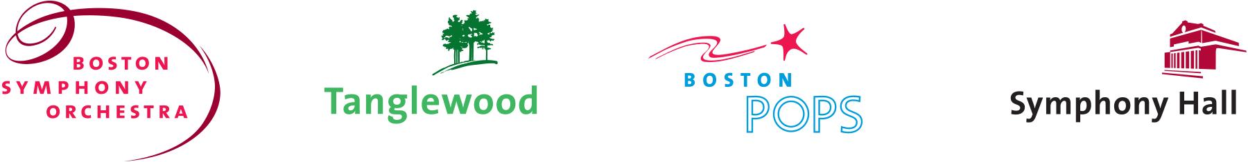 Boston Symphony Orchestra logos
