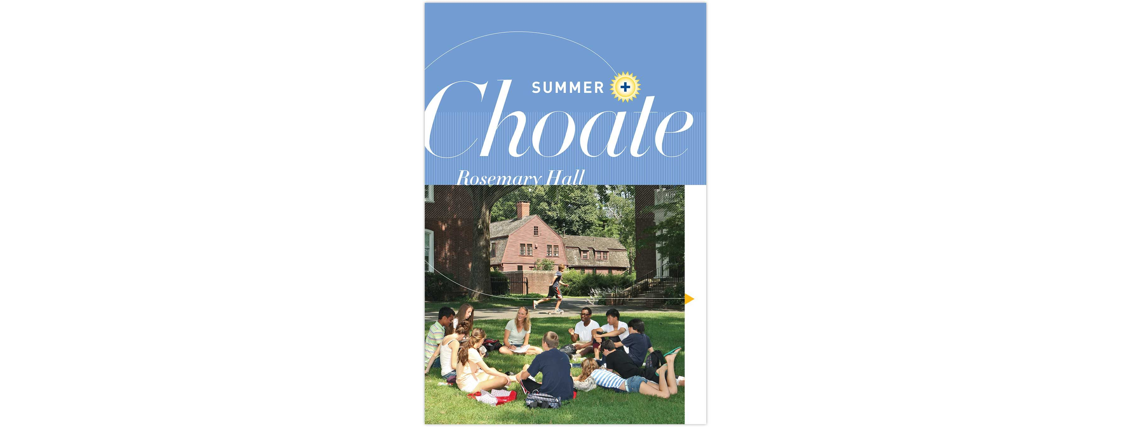 Summer at Choate Rosemary Hall print collateral