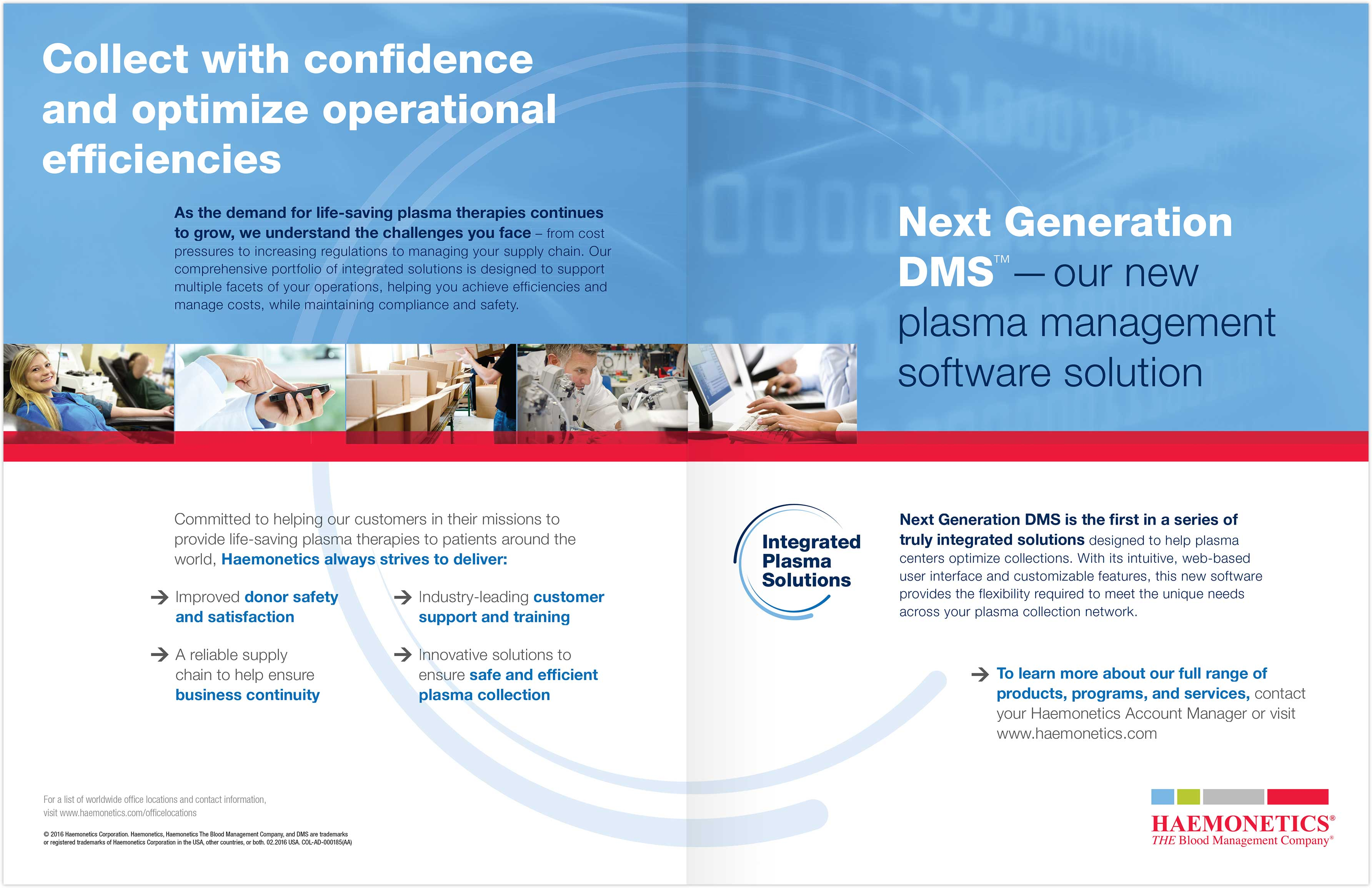 Integrated Plasma Solutions spread
