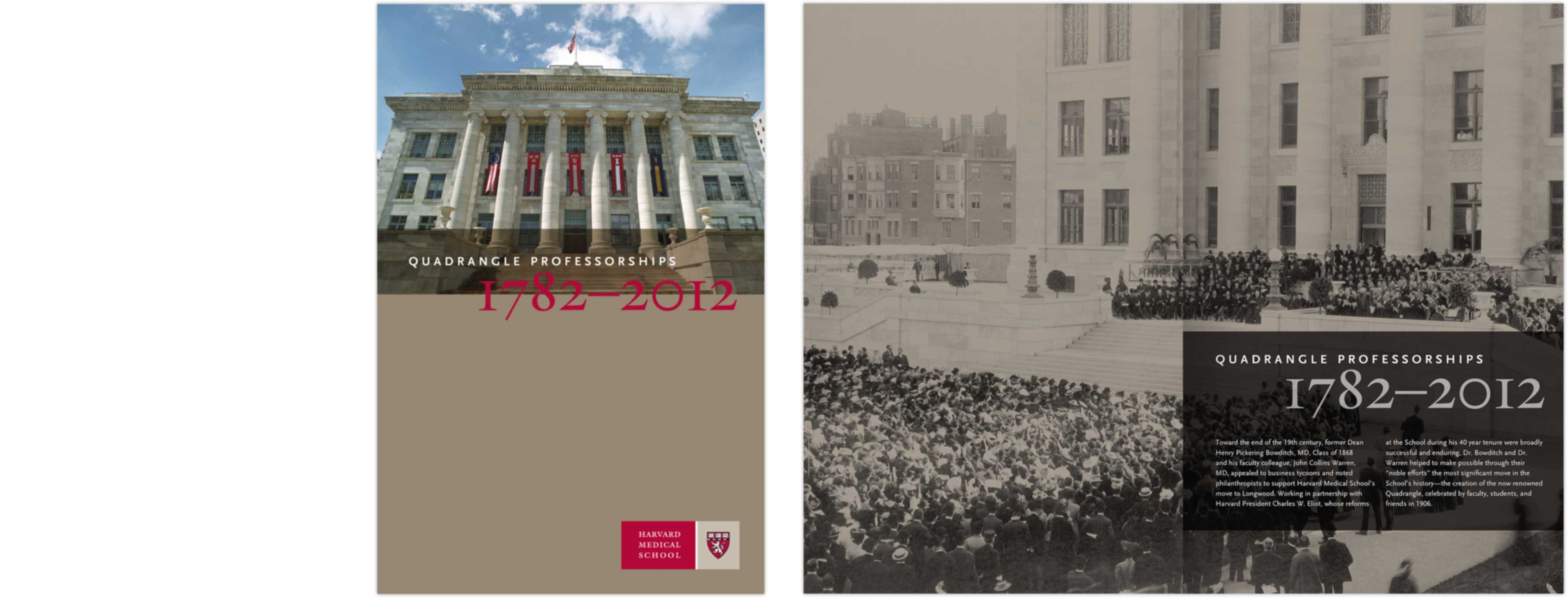 Harvard Medical School Quadrangle Professorships booklet