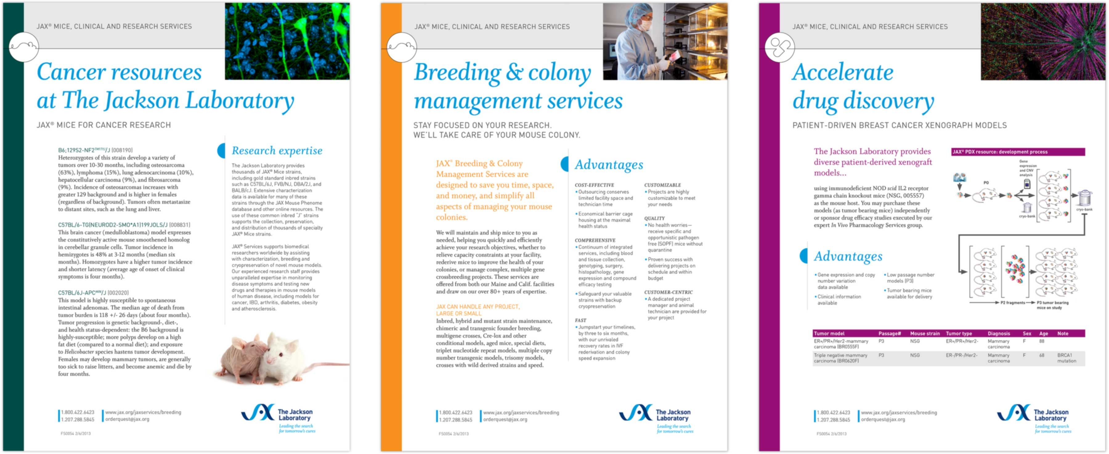 The Jackson Laboratory factsheet