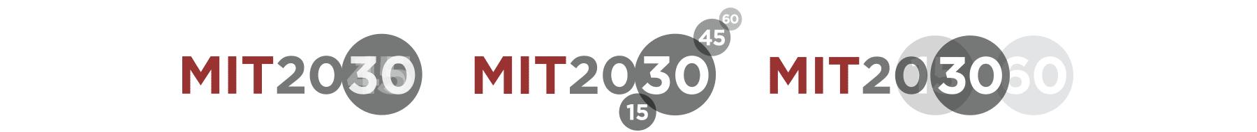 MIT 2030 logos