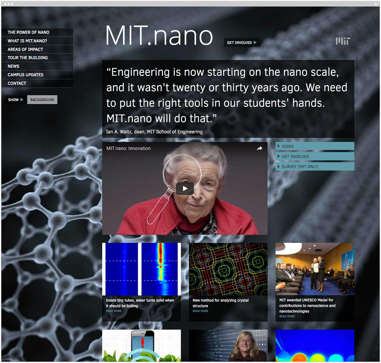 MIT.nano homepage