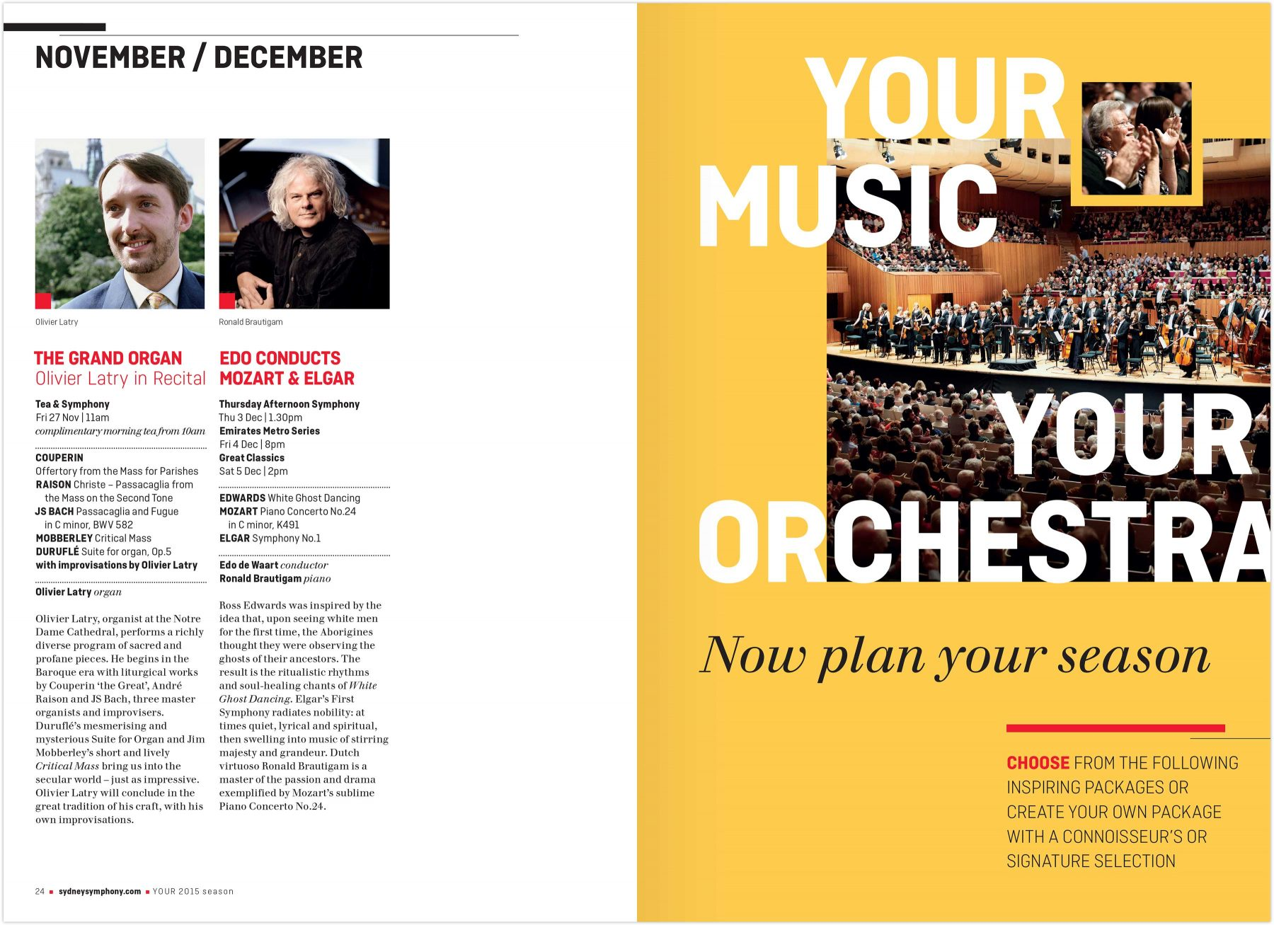 Your Music, Your Orchestra interior page