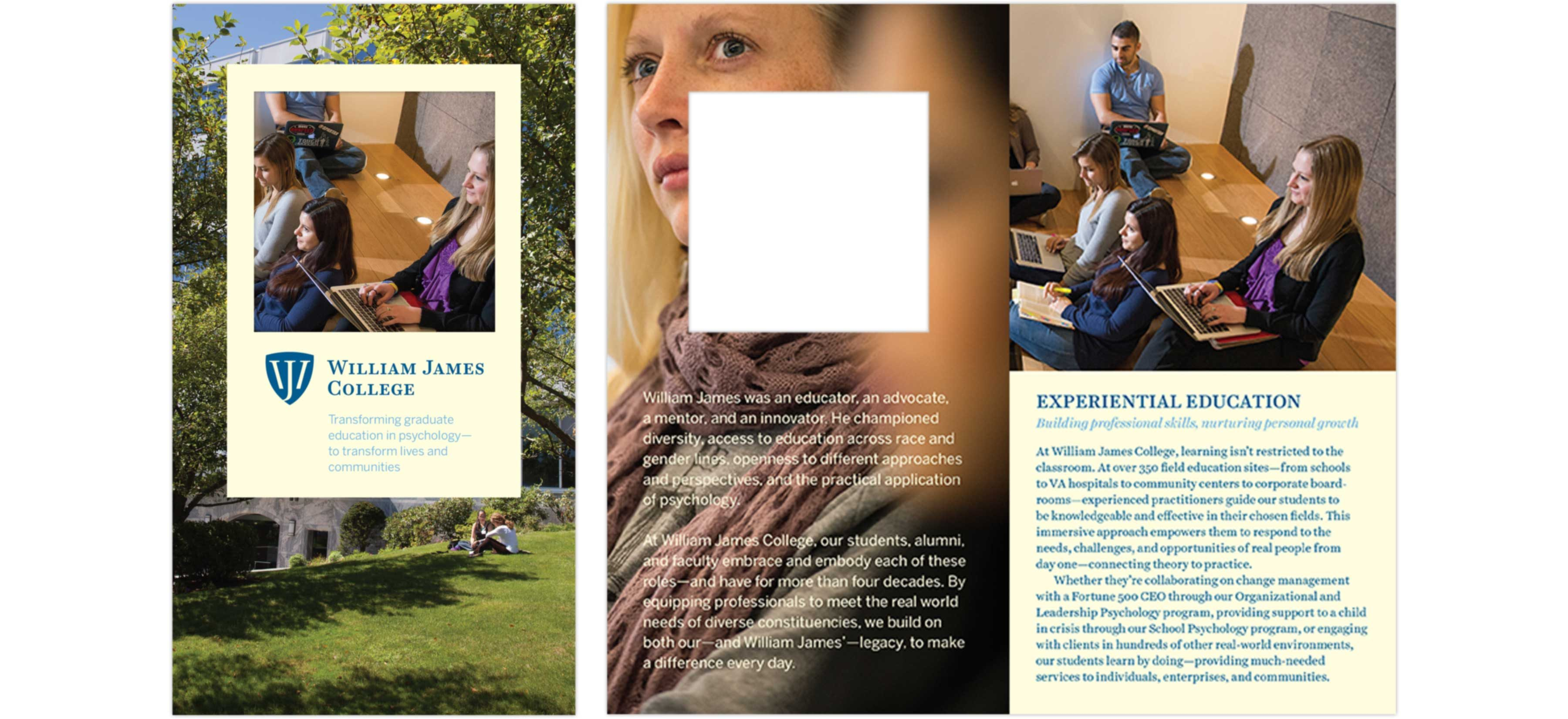 William James College brochure