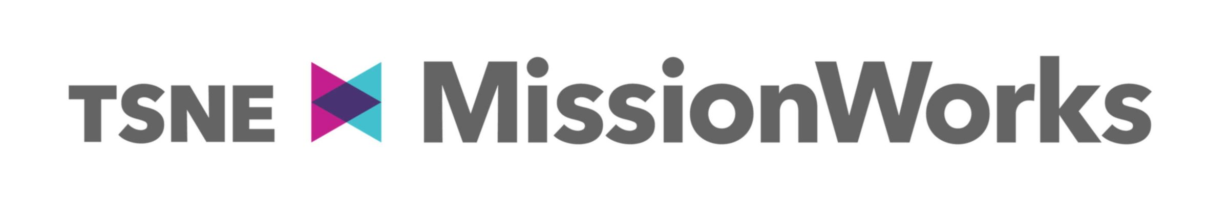 TSNE MissionWorks logo and wordmark
