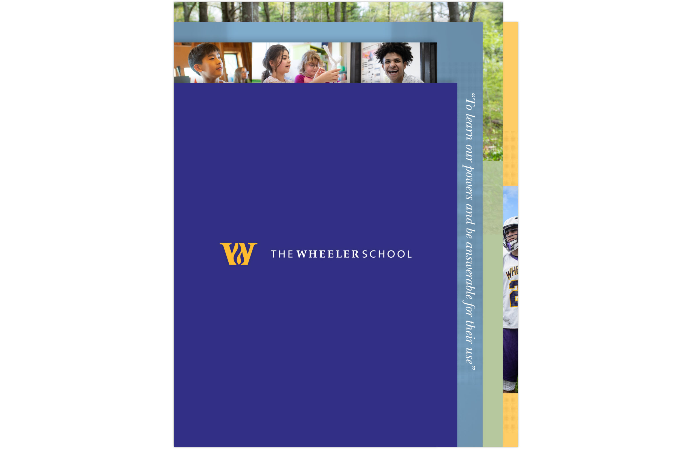 Wheeler School Viewbook cover