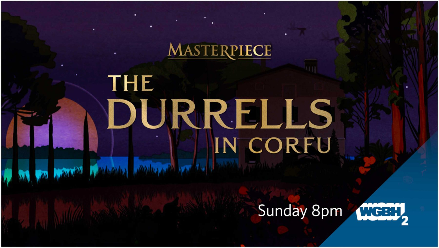 WGBH The Durrells in Corfu digital advertisement