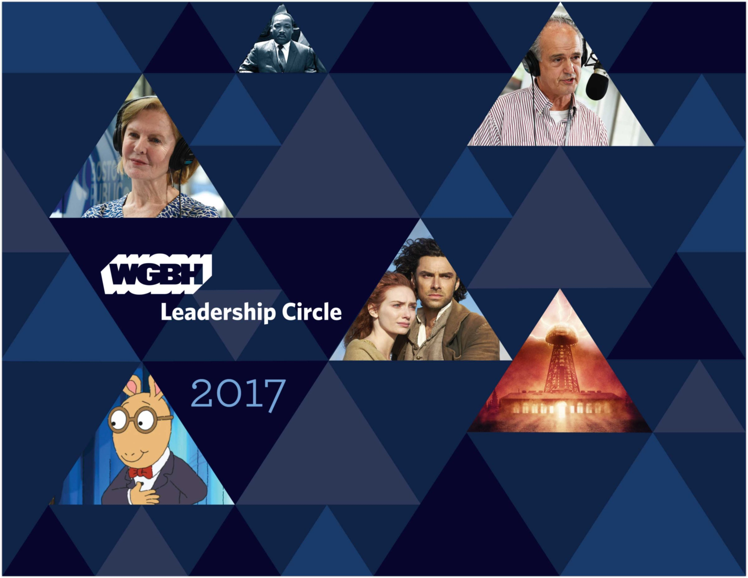 WGBH Leadership Circle digital advertisement